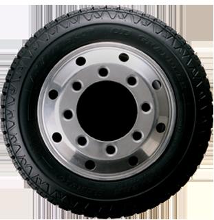 CD Grappler tire sidewall view