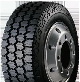 CD Grappler tire leftview