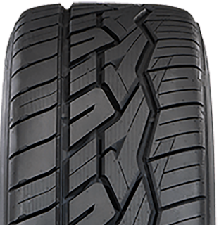 Nitto NT420V tire front view