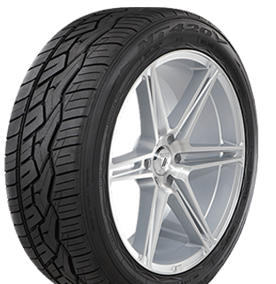 Nitto NT420V tire left view