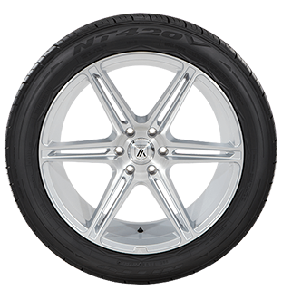 Nitto NT420V tire side view