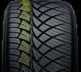 Nitto's all season  pickup truck and suv tire has slanted tread blocks