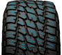 siping on Nitto's all terrain light truck tire