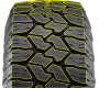 Nitto's commercial all weather light truck tire has a variable tread pattern