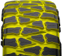 void ratio of Nitto's extreme terrain light truck mud tire