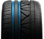 Nitto's luxury performance tire has twin circumferential grooves
