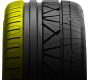 inner shoulder of Nitto's luxury performance tire