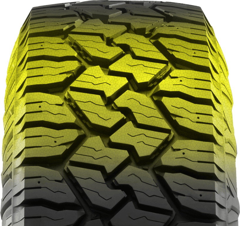 durable commercial all weather truck tire compound