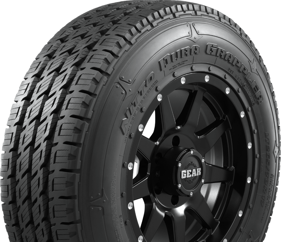 Nitto's light truck highway tire has different sidewalls