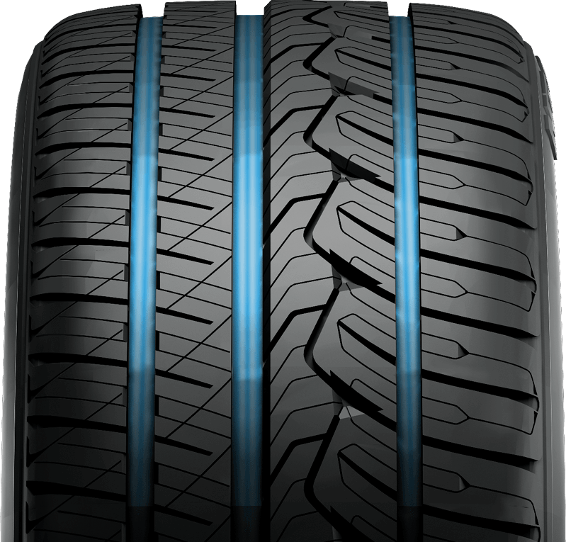 grooves on Nitto's premium crossover and suv tire