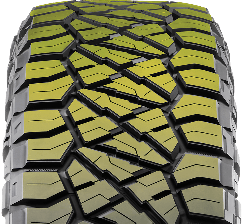 VARIABLE PITCH TREAD PATTERN